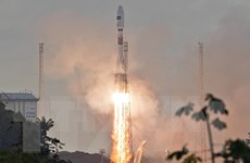 Ấn Độ đưa thành công 5 vệ tinh của Anh lên quỹ đạo Trái Đất