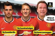 """Bật cười với ảnh chế """"kẻ hủy diệt"""" trong màu áo Manchester United"""