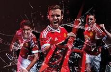 """[Photo] Manchester United gây sốt với màn ra mắt áo đấu """"cực độc"""""""