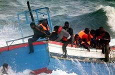 Hàng trăm người mất tích trong vụ chìm thuyền ngoài khơi Libya