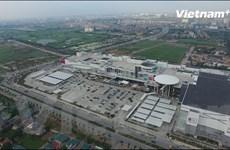 [Video] Toàn cảnh trung tâm thương mại lớn nhất Thủ đô từ trên cao