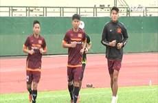 [Video] Thanh Tuấn chia tay U23 sau buổi tập đầu tiên ở Bình Dương