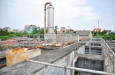 """[Photo] Toàn cảnh nhà máy nước hàng chục tỷ đồng """"xây xong để đấy"""""""
