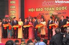 [Video] Tưng bừng ngày khai hội báo lần đầu tiên tại Hà Nội