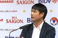 HLV Hữu Thắng muốn các cầu thủ giữ lối chơi đẹp mắt bất chấp kết quả