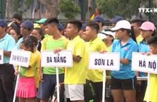 41 vận động viên tranh tài tại giải quần vợt năng khiếu Quốc gia 2016