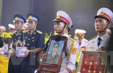 Quang cảnh xúc động của lễ truy điệu 9 liệt sỹ tổ bay CASA-212