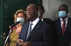 Côte d'Ivoire: Tổng thống tái đắc cử đề nghị phe đối lập đàm phán