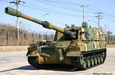 Hàn Quốc hoàn thành việc triển khai pháo tự hành K-9