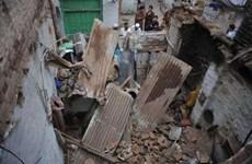 Pakistan: Sập mái nhà khiến hàng chục người thương vong