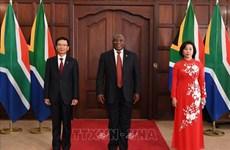 """Tăng cường quan hệ """"đối tác hợp tác và phát triển"""" Việt Nam-Nam Phi"""