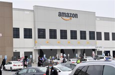 Dịch COVID-19: Amazon đóng cửa một nhà kho ở bang New Jersey