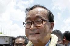 Campuchia: Ông Sam Rainsy bị kết án vắng mặt 4 năm tù