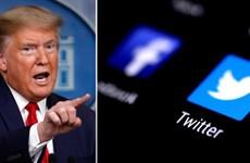 Twitter khóa tài khoản của Tổng thống Trump do lo ngại xảy bạo lực