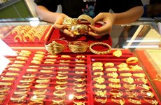 Giá vàng đi lên tại thị trường châu Á trong phiên ngày 13/1