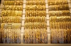 Giá vàng châu Á phiên ngày 21/1 chạm mức cao nhất gần hai tuần