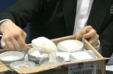 Cảnh sát Hong Kong thu giữ số lượng ma túy trị giá hàng triệu đô