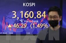 Phần lớn thị trường chứng khoán châu Á tăng phiên chiều 21/1