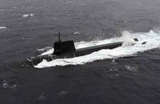 Tàu ngầm Nhật Bản va chạm với tàu tư nhân ngoài khơi tỉnh Kochi