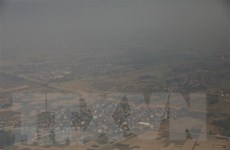 Thủ đô Seoul và miền Trung Hàn Quốc ô nhiễm bụi mịn nghiêm trọng