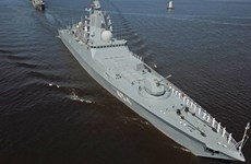Khinh hạm của Hải quân Nga phóng thử tên lửa siêu vượt âm Tsirkon