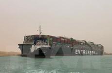 Nỗ lực giải cứu tàu hàng MV Ever Given mắc kẹt tại kênh đào Suez