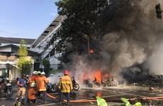 Indonesia bắt giữ thêm 3 nghi can trong vụ đánh bom nhà thờ