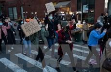 Tuần hành quy mô lớn tại New York kêu gọi bảo vệ người Mỹ gốc Á