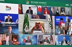Bộ trưởng tài chính các nước G20 họp trực tuyến về phục hồi kinh tế