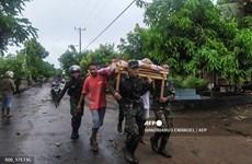 Indonesia điều tàu hải quân và máy bay chở hàng tiếp tế cho người dân