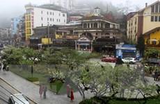 Lào Cai xuất hiện mưa đá đi kèm với gió giật mạnh cấp 9