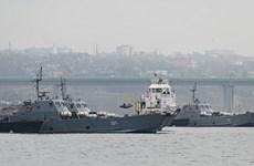 Quân đội Nga tập trận liên binh chủng tại Bán đảo Crimea