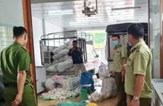 An Giang: Thu giữ hơn 3 tấn thực phẩm chay không rõ nguồn gốc