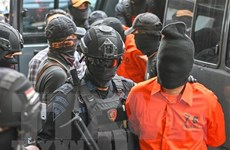 Tòa án Indonesia tuyên án tử 6 kẻ tham gia vụ giết cảnh sát chấn động