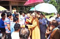 Giáo hội Phật giáo Việt Nam hỗ trợ Giáo hội Phật giáo Lào vượt khó