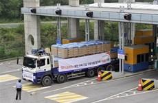 Hàn Quốc mở đường cho các chuyến hàng viện trợ nhân đạo tới Triều Tiên