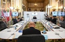Hội nghị Ngoại trưởng G7: Hội đàm 3 bên Mỹ-Nhật-Hàn