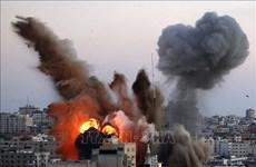 Nhà riêng của thủ lĩnh Hamas tại Dải Gaza bị trúng bom