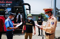 Điện Biên: Lập 4 chốt kiểm soát dịch trên các tuyến quốc lộ trọng yếu