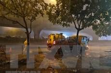 Đêm 20/5 các khu vực đều có mưa và dông, đề phòng thời tiết nguy hiểm