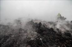 CHDC Congo sơ tán hàng chục nghìn người do lo ngại núi lửa phun trào