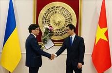 Lễ trao quyết định bổ nhiệm Lãnh sự danh dự Việt Nam tại Odessa