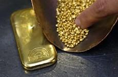 Giá vàng thế giới giảm phiên 27/5 do kinh tế Mỹ tăng trưởng mạnh