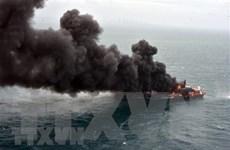 Singapore điều tra vụ tàu chở hàng bốc cháy ngoài khơi Sri Lanka