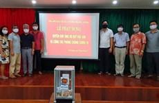 Cộng đồng người Việt Nam ở Preah Sihanouk ủng hộ Quỹ vaccine COVID-19