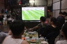 Dịch COVID-19: Hải Phòng yêu cầu người dân không tụ tập xem bóng đá