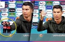 Cristiano Ronaldo và Coca-Cola: Cuộc chiến giữa hai thương hiệu