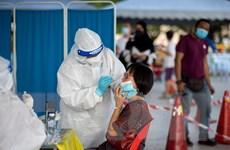 Số ca nhiễm mới COVID-19 tại Malaysia tiếp tục tăng cao
