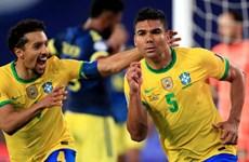 Copa America: Brazil vượt qua Colombia bằng bàn thắng gây tranh cãi
