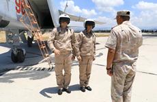 Hải quân và Không quân Nga tập trận chung ở Đông Địa Trung Hải